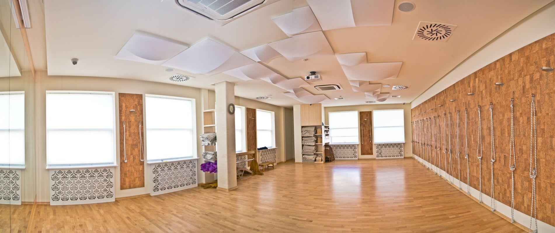 Йога центр exhale на победы, дом 5: фото дизайна интерьера